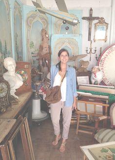 Sezane / Morgane Sézalory - Inspiration Chiner - #sezane #journalsezane www.sezane.com