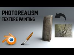 Texture painting | photo realism | Quick guide - YouTube
