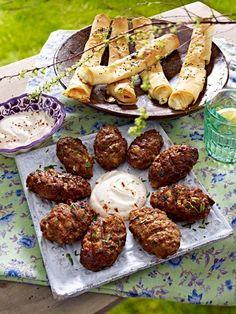 Orientalisches GRILL-Vergnügen: KÖFTE und FILO-RÖLLCHEN schmecken so am besten >>>>>>
