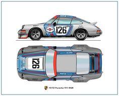 Martini-Porsche 911 RSR 1973