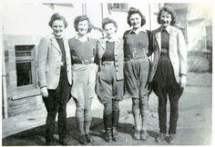 Womens' Land Army Women's Land Army, Ww2, Landing, Fashion, Moda, La Mode, Fasion, Fashion Models, Trendy Fashion