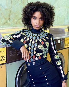 lianne-lahavas:   Lianne La Havas for Teen Vogue... - Afro God