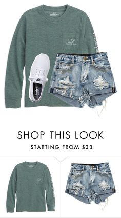 """Vineyard vines"" by simplylovelyruru ❤ liked on Polyvore featuring Keds"