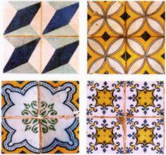 Portuguese old tiles in Brazil.