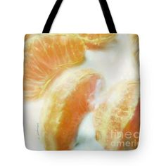 Clementines And Greek Yoghurt Tote Bag by Shelly Weingart