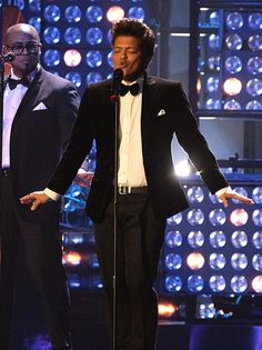 Image detail for -Bruno Mars Performs At The BRIT Awards 2012