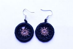 mataza mataza on Etsy Crochet Earrings, Etsy Seller, Drop Earrings, Create, Unique, Ear Jewelry, Handmade, Crocheting, Chandelier Earrings