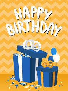 Happy B Day Cards, Happy Birthday Wishes Cards, Best Birthday Wishes, Happy Birthday Quotes, Birthday Greeting Cards, Happy Birthday Blue, Happy Birthday Pictures, Birthday Love, Card Birthday