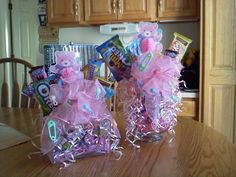vase tissue paper filled | . In the middle of each vase i wrapped floral foam in tissue paper ...