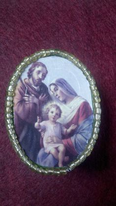 Holy Family Rosary Gift Box by HandmaidentheUSA on Etsy, $5.99