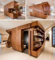 Ultra Modern Kitchen Island Design