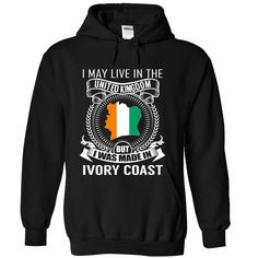 I May Live in the UK But I Was Made in Ivory Coast T-Shirts, Hoodies. GET IT ==► https://www.sunfrog.com/States/I-May-Live-in-the-UK-But-I-Was-Made-in-Ivory-Coast-V3-gdmnvwifhw-Black-Hoodie.html?id=41382