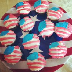 Forth of July cupcakes!