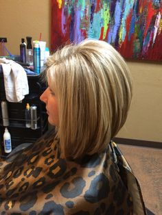 Layered A-Line Bob                                                                                                                                                                                 More