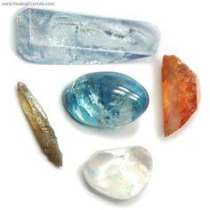 Grab Bag - Aura Quartz Assortment (Broken/Chipped)- Aqua Aura - Healing Crystals