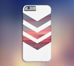 Chevron Pink Sunset Case for iPhone 6 6 Plus iPhone 5 5s 5c iPhone 4 4s Samsung Galaxy s5 s4 & s3 and Note 4 3 2