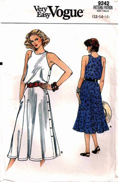 Vogue 9242 - Vintage Sewing Patterns