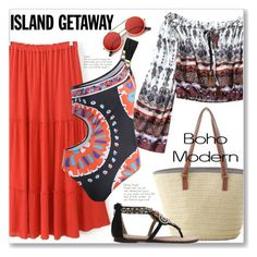 """""""Boho Chic Island Getaway"""" by jecakns ❤ liked on Polyvore featuring ZeroUV"""