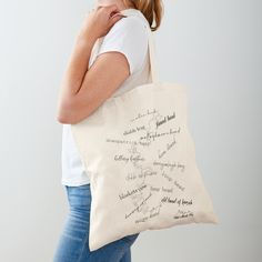 'Wild Atlantic Way, Signature Discovery Points' Tote Bag by WildLunatic Printed Tote Bags, Cotton Tote Bags, Reusable Tote Bags, Doodle Bags, Poplin Fabric, Cotton Fabric, Ocd, Shopping Bag, Chiffon Tops