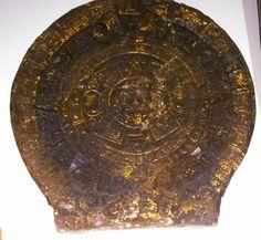 SOL AZTECA EN CERA