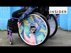 Artistic Wheelchairs Are Smashing Negative Stigmas - YouTube>>> See it. Believe it. Do it. Watch thousands of spinal cord injury videos at SPINALpedia.com