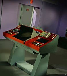 1966: Bean Me Up transporter console #startrek