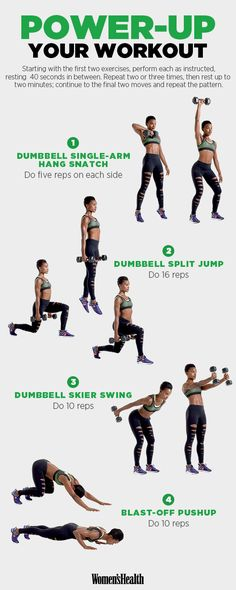 Power Through This Workout for Twice the Strengthening in Half the Time | Women's Health