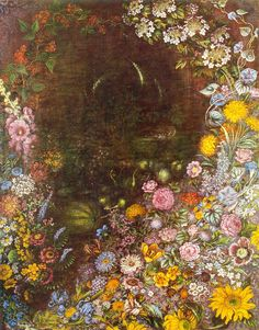Kateryna Bilokur   Detail in Folk Art Florals | inspiration