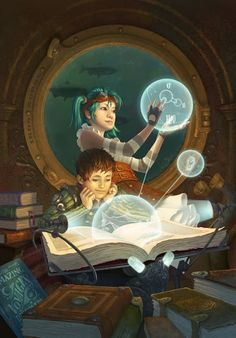 Steampunk Tendencies Shared publicly - G+ #Steampunk  New Illustration by Antonio Caparo