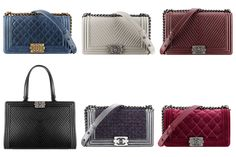 Chanel Boy And Classic Flap Bag Fall Winter 2014 Pre-collection