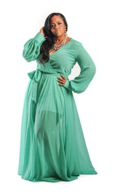 I'm Obsessed with These Maxi Dresses from Chic and Curvy Boutique | Swa-Rai