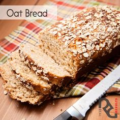 Erin' Oat Bread  4 1/2 cups milk – simmered  2½ cups old-fashioned oats 1/2 cup oat bran 1/2 cup packed golden brown sugar 1/4 cup butter, melted 1 Tablespoon instant yeast  6 to 7 cups bread flour 1 Tablespoon salt  Full instructions on