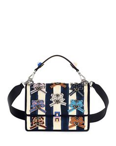 5d2a2ab4cff3 Fendi Kan I Pequin Watercolor Shoulder Bag