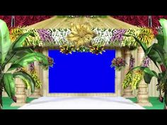 Background Video Effects for Wedding-Cool Frame Moving Animation - YouTube