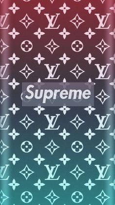 SUPREME x LOUIS VUITTON Wallpapers in 2019 Supreme