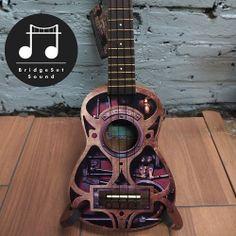 Steampunk ukulele from bridgesetsound.com/store
