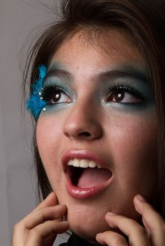 maquillaje para gimnasia ritmica
