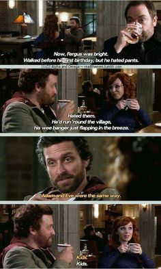 Supernatural: Rowena and Chuck Supernatural Series, Supernatural Bloopers, Supernatural Tattoo, Supernatural Imagines, Supernatural Wallpaper, Supernatural Fandom, Supernatural Funny Moments, Mark Sheppard, Sam Winchester