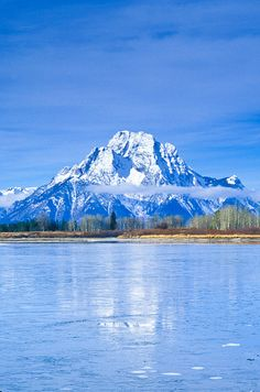 Oxbow Bend, Snake River, Grand Teton National Park, Wyoming; photo by Jerry Mercier*