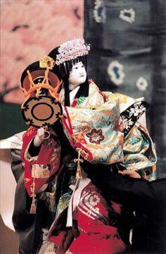 Japanese Puppets Bunraku | Japanese Bunraku