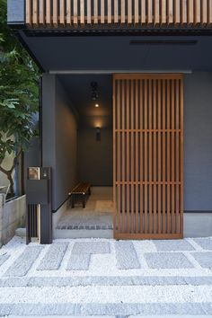 Authentic Japanese style and modern Japanese style - Kazumian - (Pouhausu (POHAUS)) Modern Japanese Interior, Japanese Style House, Traditional Japanese House, Japanese Interior Design, Home Modern, Japanese Architecture, Interior Architecture, Sustainable Architecture, Residential Architecture