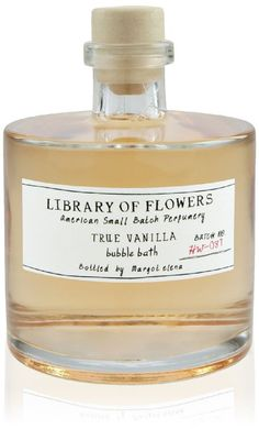 Library of Flowers Bubble Bath-True Vanilla