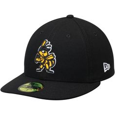 Salt Lake Bees New Era Home Authentic Collection On-Field Low Profile 59FIFTY Fitted Hat - Black