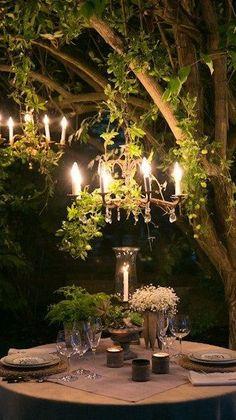...a romantic table....