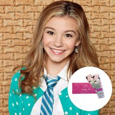 G. Hannelius is an incredibly talented actress and singer/songwriter. Now, at the age of 15, she's the co-founder of Make Me Nails.  #MakeMeNails #GHannelius