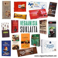Laajempi vegaanisten suklaiden lista löytyy täältä: http://www.vegaanituotteet.net/herkut/suklaat