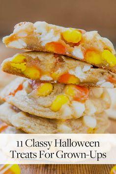 11 Classy Halloween Treats (and Drinks) for Grown-Ups via @PureWow