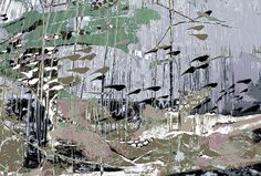 underwater13.jpg - Painting,  55x40.5x2 cm ©2013 by Youri Chasov -                                                            Abstract Expressionism, Canvas, Abstract Art, Youri Chasov