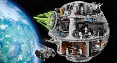 Lego has made a cool version of the Death Star, great gift idea for kids. They need to lower their prices though $500 a bit steep wouldn't you say?
