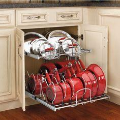 Kitchen Cabinet Organization - Chaotically Creative